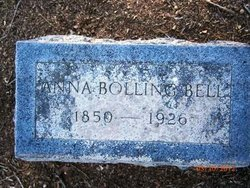 Annastasia Anna <i>Bolling</i> Bell