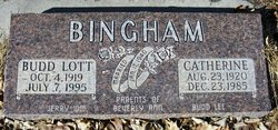 Budd L Bingham