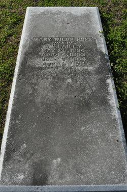 Mary Wilds <i>Pope</i> Bailey