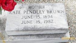 Kate <i>Pendley</i> Brown