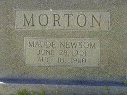 Maude Newsom Morton
