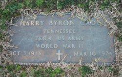 Harry Bryon Cade