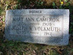 Mary A <i>McElwee</i> Cameron