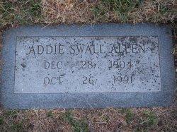 Addie T. <i>Swall</i> Allen