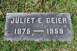 Juliet Irma <i>Esselborn</i> Geier