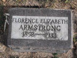 Florence Elizabeth <i>McMillen</i> Armstrong