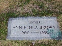 Annie Ola <i>Hyatt</i> Brown