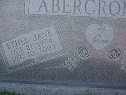 Ethel Jane <i>Daffin</i> Abercrombie