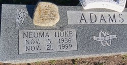 Neoma Shorty <i>Hoke</i> Adams