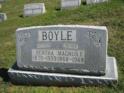 Bertha <i>Trethewey</i> Boyle