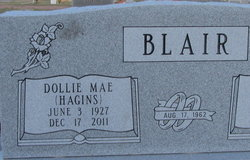 Dollie Mae <i>Hagins</i> Blair
