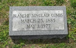 Blanche Munford <i>Sinclair</i> Combs