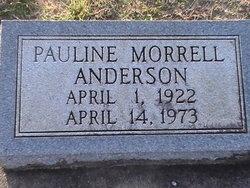 Pauline <i>Morrell</i> Anderson