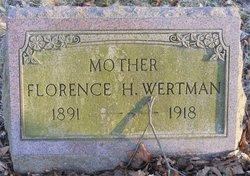 Florence H <i>Miller</i> Wertman