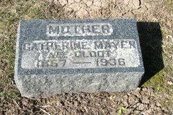 Catherine <i>Glodt</i> Mayer