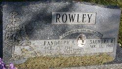 Randolph J Rowley