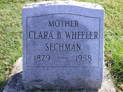 Clara Belle <i>Awbray</i> Wheeler Sechman