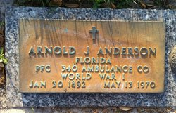 PFC Arnold J. Anderson
