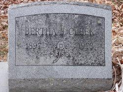 Bertha J. Cleek
