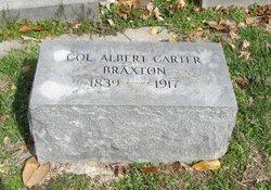 Col Albert Carter Braxton
