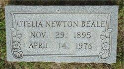 Mary Otelia <i>Newton</i> Beale