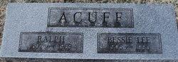 Bessie Lee <i>Grantham</i> Acuff