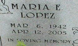 Maria E Lopez