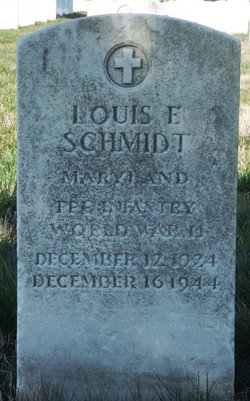 PFC Louis E Schmidt