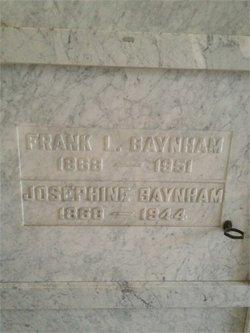 Josephine <i>Cathcart</i> Baynham
