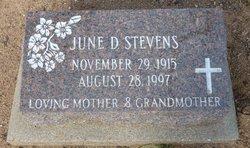 June D Stevens