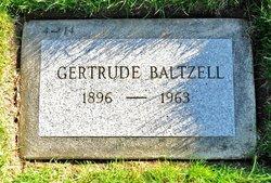 Gertrude Baltzell