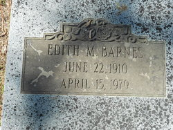 Edith M Barnes