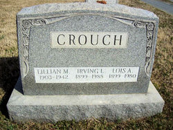 Irving L Crouch