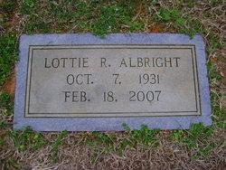 Lottie R Albright