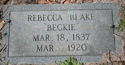 Rebecca Beckie Blake
