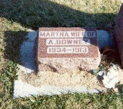 Martha <i>Lindsey</i> Downey