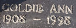 Goldie Ann <i>Foster</i> Hardesty