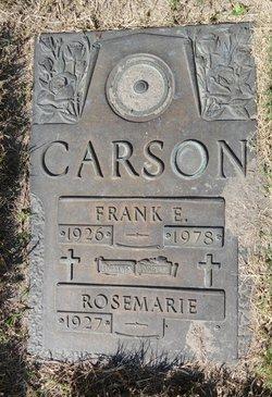 Rosmarie Carson