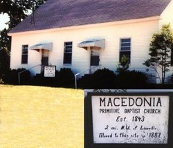 Macedonia Primitive Baptist (old)