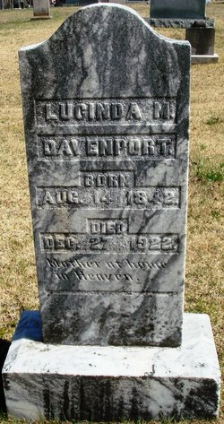 Lucinda M. Cindy <i>Hicks</i> Davenport