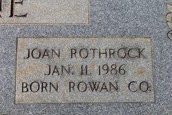 Joan Luckey <i>Rothrock</i> Cline