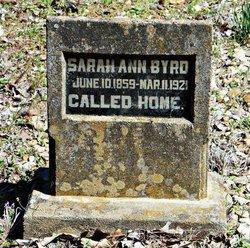 Sarah Ann Byrd