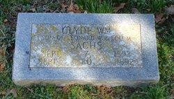 Clyde Wm. Sachs
