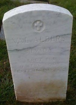 Sgt Valentine Val Albers