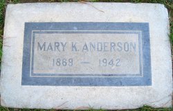 Mary K Anderson