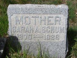 Sarah A <i>Bainbridge</i> Schum
