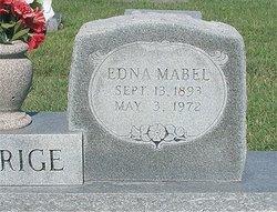 Edna Mabel <i>Groh</i> Aldrige