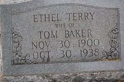 Ethel Mae <i>Terry</i> Baker