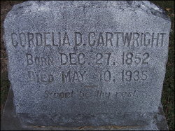 Cordelia <i>Davis</i> Cartwright