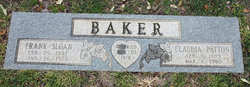 Claudia Maurine <i>Patton</i> Baker